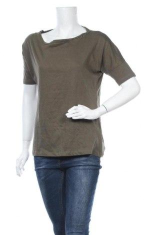 Дамска блуза Chicoree, Размер L, Цвят Зелен, Памук, Цена 15,96лв.