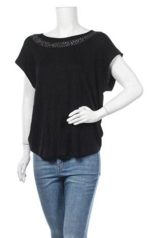 Дамска блуза Chicoree, Размер L, Цвят Черен, 95% вискоза, 5% еластан, Цена 16,80лв.