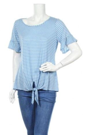 Γυναικεία μπλούζα Christopher & Banks, Μέγεθος L, Χρώμα Μπλέ, 53% βισκόζη, 47% πολυεστέρας, Τιμή 10,49€