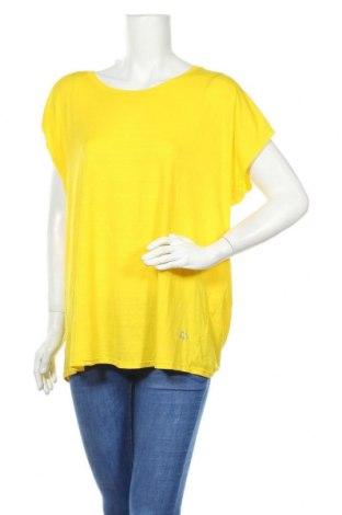 Дамска блуза Circuit, Размер XL, Цвят Жълт, Полиестер, еластан, Цена 18,90лв.