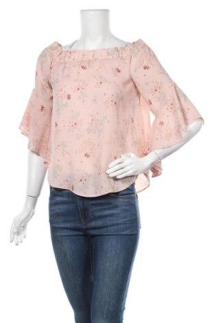 Дамска блуза Clockhouse, Размер S, Цвят Розов, Полиестер, Цена 4,99лв.