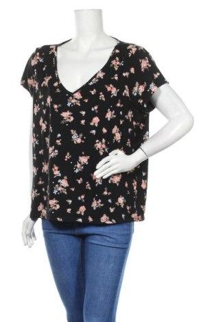 Γυναικεία μπλούζα Clockhouse, Μέγεθος XXL, Χρώμα Μαύρο, 95% βαμβάκι, 5% ελαστάνη, Τιμή 11,04€