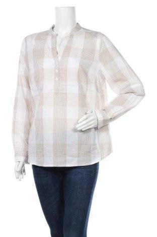 Γυναικεία μπλούζα Collection L, Μέγεθος L, Χρώμα  Μπέζ, Βαμβάκι, Τιμή 10,23€