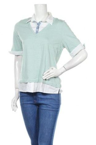 Γυναικεία μπλούζα Collection L, Μέγεθος M, Χρώμα Πράσινο, Βαμβάκι, μοντάλ, Τιμή 4,32€