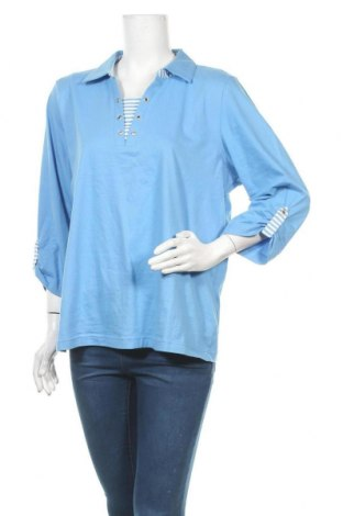 Γυναικεία μπλούζα Collection L, Μέγεθος XL, Χρώμα Μπλέ, Βαμβάκι, Τιμή 9,38€