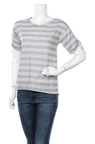 Γυναικεία μπλούζα Colloseum, Μέγεθος XS, Χρώμα Γκρί, 50% βισκόζη, 42% πολυεστέρας, 8% ελαστάνη, Τιμή 7,79€