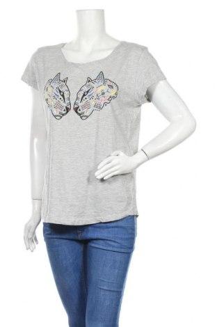 Дамска блуза Colours Of The World, Размер XL, Цвят Сив, 95% памук, 5% вискоза, Цена 14,28лв.