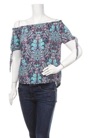 Дамска блуза Colours Of The World, Размер S, Цвят Многоцветен, 57% памук, 43% модал, Цена 12,50лв.