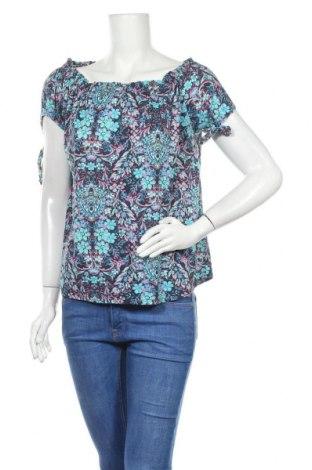 Дамска блуза Colours Of The World, Размер L, Цвят Многоцветен, 57% памук, 43% модал, Цена 17,96лв.