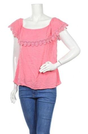 Дамска блуза Colours Of The World, Размер XL, Цвят Розов, Вискоза, Цена 18,95лв.