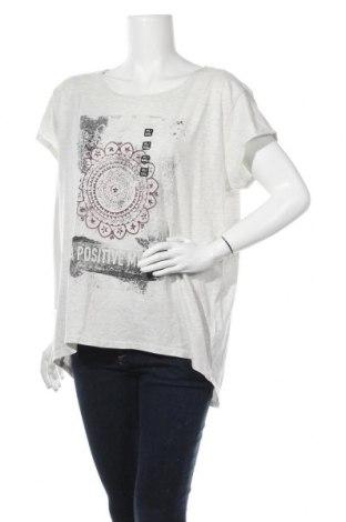 Дамска блуза Colours Of The World, Размер XXL, Цвят Бял, 99% памук, 1% вискоза, Цена 28,93лв.