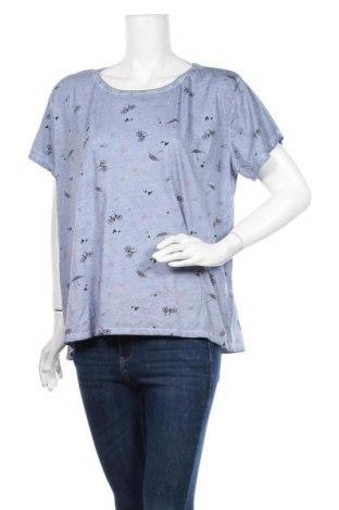 Дамска блуза Colours Of The World, Размер XL, Цвят Син, Памук, Цена 16,80лв.