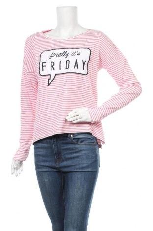 Дамска блуза Colours Of The World, Размер S, Цвят Бял, Памук, Цена 13,44лв.