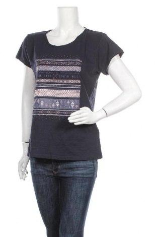 Дамска блуза Colours Of The World, Размер L, Цвят Син, Памук, Цена 26,25лв.