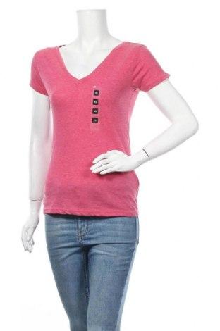 Дамска блуза Colours Of The World, Размер XS, Цвят Червен, 65% полиестер, 35% памук, Цена 10,08лв.