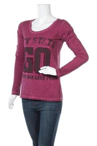 Дамска блуза Colours Of The World, Размер XS, Цвят Лилав, Памук, Цена 19,95лв.