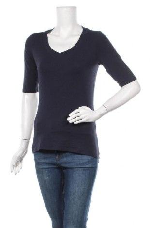 Γυναικεία μπλούζα Comma,, Μέγεθος M, Χρώμα Μπλέ, 47% βαμβάκι, 47% μοντάλ, 6% ελαστάνη, Τιμή 16,05€