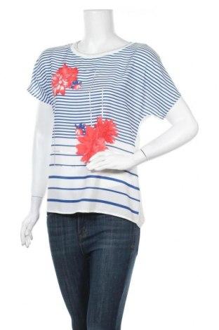 Γυναικεία μπλούζα Comma,, Μέγεθος M, Χρώμα Λευκό, Βισκόζη, Τιμή 28,61€