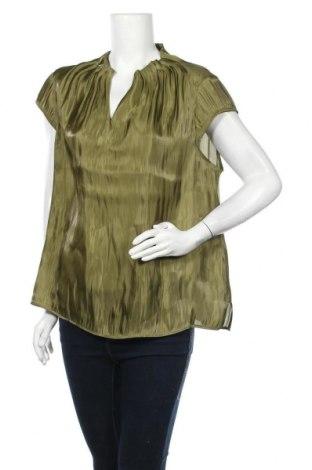 Γυναικεία μπλούζα Comma,, Μέγεθος XL, Χρώμα Πράσινο, Πολυεστέρας, Τιμή 27,83€
