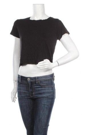 Γυναικεία μπλούζα Cotton On, Μέγεθος L, Χρώμα Μαύρο, 95% βισκόζη, 5% ελαστάνη, Τιμή 15,20€