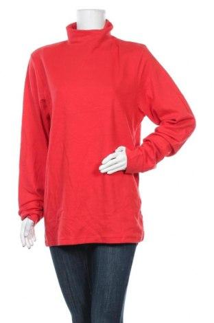 Γυναικεία μπλούζα Crane, Μέγεθος XL, Χρώμα Κόκκινο, Βαμβάκι, ελαστάνη, Τιμή 8,64€