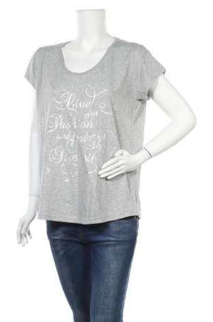 Γυναικεία μπλούζα Crivit, Μέγεθος XL, Χρώμα Γκρί, 64% βαμβάκι, 35% πολυεστέρας, Τιμή 10,91€