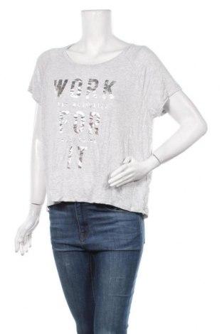 Γυναικεία μπλούζα Crivit, Μέγεθος XL, Χρώμα Γκρί, 97% βισκόζη, 3% ελαστάνη, Τιμή 9,94€