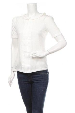 Γυναικεία μπλούζα Cyrillus, Μέγεθος M, Χρώμα Λευκό, 50% βαμβάκι, 50% lyocell, Τιμή 13,64€