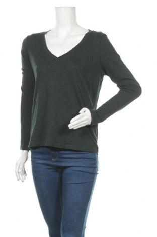 Γυναικεία μπλούζα Cyrillus, Μέγεθος L, Χρώμα Πράσινο, Βαμβάκι, Τιμή 22,73€