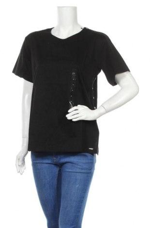 Дамска блуза Diesel, Размер S, Цвят Черен, Памук, Цена 119,25лв.