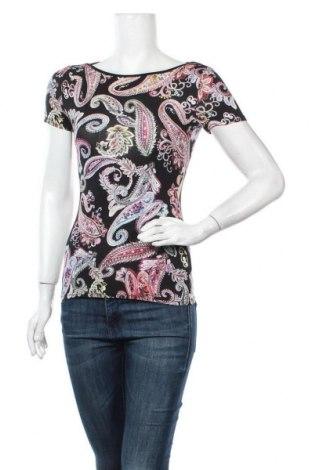 Дамска блуза Dika, Размер S, Цвят Многоцветен, 94% вискоза, 6% еластан, Цена 14,28лв.