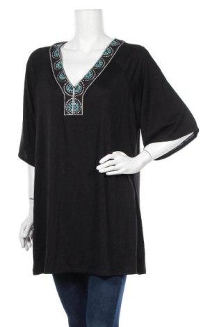 Γυναικεία μπλούζα Dotti, Μέγεθος L, Χρώμα Μαύρο, 63% πολυεστέρας, 37% βισκόζη, Τιμή 10,49€