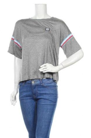 Γυναικεία μπλούζα Dunlop, Μέγεθος XL, Χρώμα Γκρί, Βισκόζη, Τιμή 13,51€