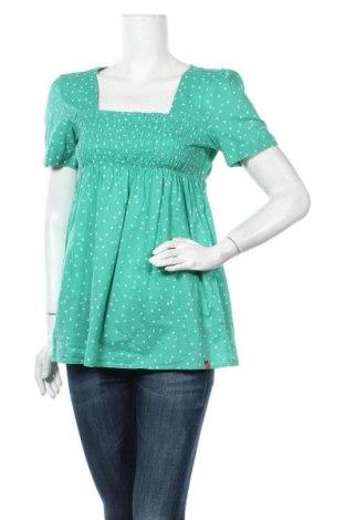 Γυναικεία μπλούζα Edc By Esprit, Μέγεθος M, Χρώμα Πράσινο, Βαμβάκι, Τιμή 11,04€