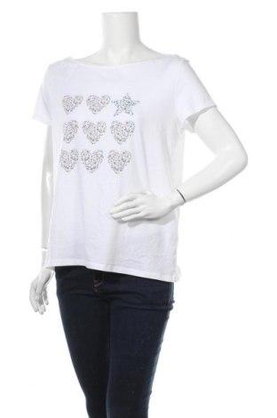 Γυναικεία μπλούζα Edc By Esprit, Μέγεθος XL, Χρώμα Λευκό, Βαμβάκι, Τιμή 19,74€