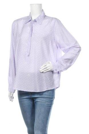 Dámská halenka Ellen Amber, Velikost XL, Barva Fialová, 70% bavlna, 30% hedvábí, Cena  303,00Kč