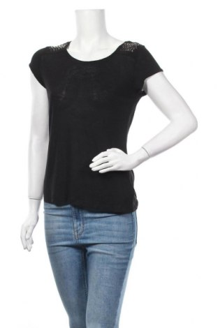 Дамска блуза Esmara, Размер XS, Цвят Черен, 95% вискоза, 5% лен, Цена 16,80лв.
