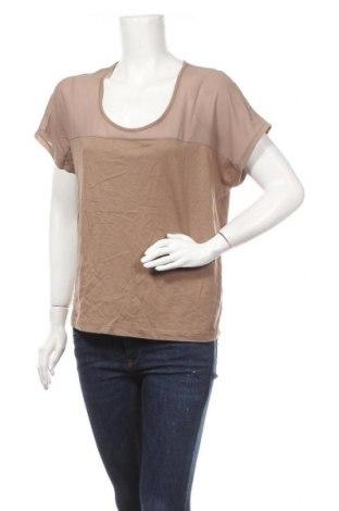 Дамска блуза Esmara, Размер L, Цвят Бежов, 50% памук, 50% модал, Цена 14,96лв.