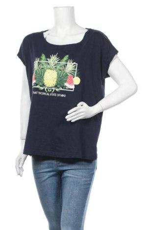 Дамска блуза Esmara, Размер XL, Цвят Син, Памук, Цена 16,80лв.