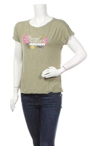 Дамска блуза Esmara, Размер S, Цвят Зелен, Цена 16,96лв.