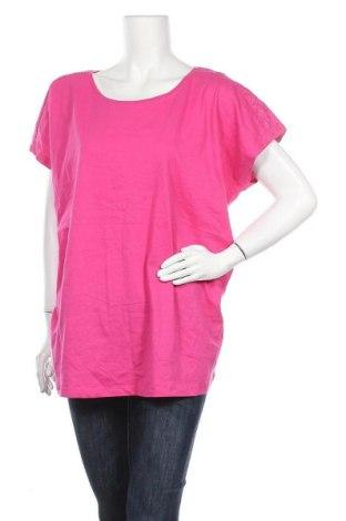 Дамска блуза Esmara, Размер XXL, Цвят Розов, Памук, Цена 14,96лв.