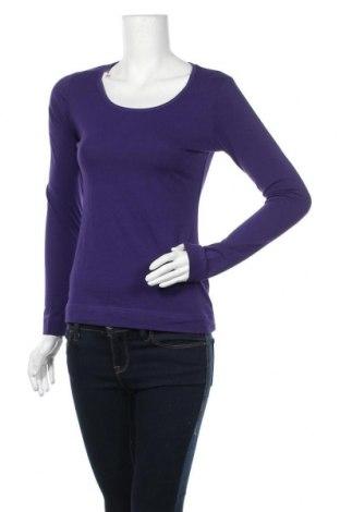 Дамска блуза Esmara, Размер S, Цвят Лилав, 95% памук, 5% еластан, Цена 19,95лв.