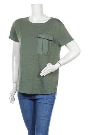 Γυναικεία μπλούζα Esprit, Μέγεθος L, Χρώμα Πράσινο, 50% βαμβάκι, 50% μοντάλ, Τιμή 11,72€