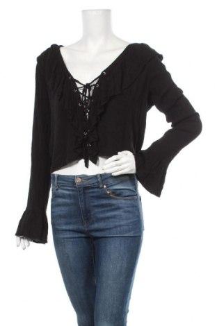 Дамска блуза Even&Odd, Размер M, Цвят Черен, Вискоза, Цена 16,07лв.