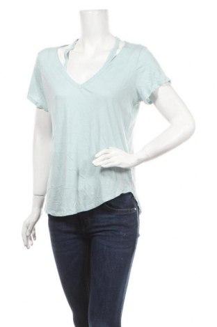Γυναικεία μπλούζα Express, Μέγεθος L, Χρώμα Μπλέ, 60% βαμβάκι, 40% μοντάλ, Τιμή 10,49€