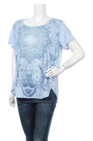Γυναικεία μπλούζα Faded Glory, Μέγεθος XXL, Χρώμα Μπλέ, Πολυεστέρας, Τιμή 10,39€