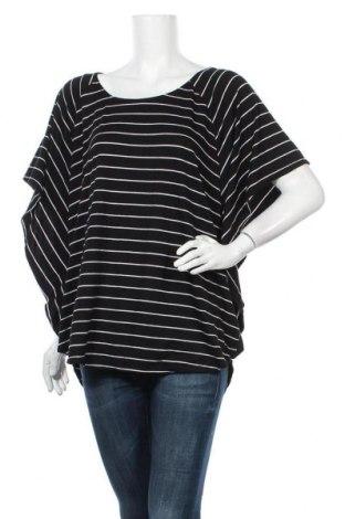 Γυναικεία μπλούζα Faded Glory, Μέγεθος XL, Χρώμα Μαύρο, 67% πολυεστέρας, 30% βισκόζη, 3% ελαστάνη, Τιμή 11,69€