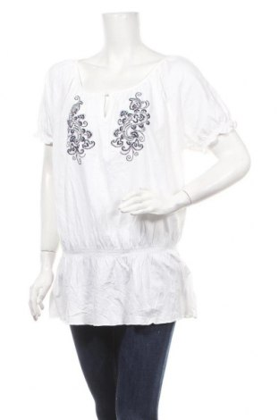 Γυναικεία μπλούζα Faded Glory, Μέγεθος XL, Χρώμα Λευκό, 60% βαμβάκι, μοντάλ, Τιμή 10,49€