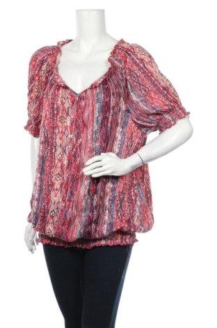 Γυναικεία μπλούζα Faded Glory, Μέγεθος XXL, Χρώμα Πολύχρωμο, Πολυεστέρας, Τιμή 11,11€
