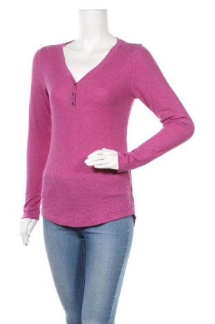 Γυναικεία μπλούζα Faded Glory, Μέγεθος M, Χρώμα Βιολετί, 65% πολυεστέρας, 35% πολυαμίδη, Τιμή 8,28€
